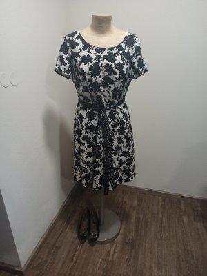Taifun Sukienka koktajlowa biały-czarny