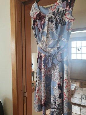 Taifun Sukienka o kroju litery A Wielokolorowy