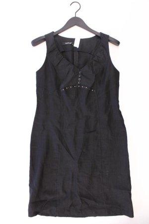 Taifun Kleid Größe 40 schwarz aus Polyester