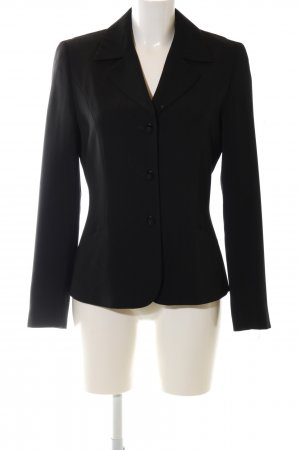 Taifun Kurz-Blazer schwarz Business-Look
