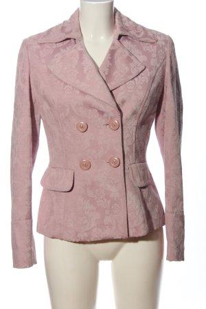 Taifun Kurz-Blazer pink Allover-Druck Business-Look