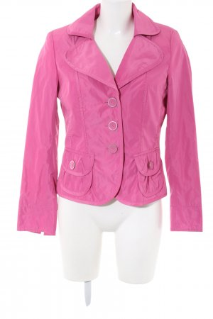 Taifun Kurz-Blazer pink Business-Look