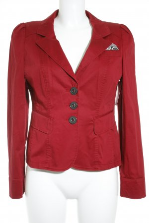 Taifun Kurz-Blazer rot Business-Look