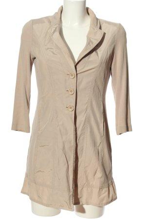 Taifun Krótki płaszcz brązowy W stylu casual