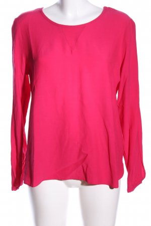 Taifun Langarm-Bluse pink Casual-Look