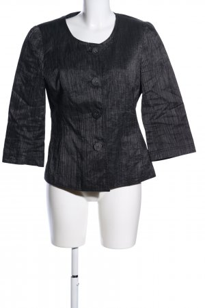 Taifun Langarm-Bluse schwarz Streifenmuster Casual-Look