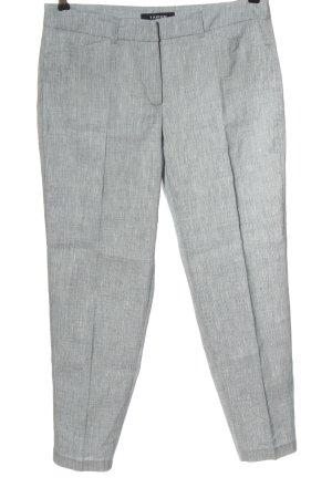Taifun Pantalone di lino grigio chiaro stile casual