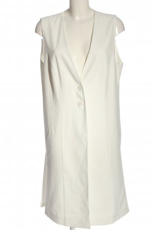 Taifun Long Knitted Vest white casual look