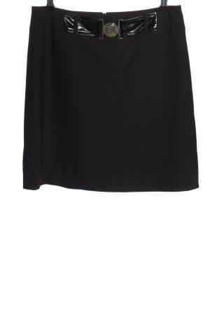 Taifun Mini rok zwart casual uitstraling