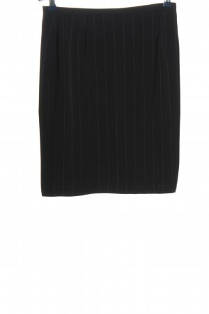 Taifun Mini rok zwart gestreept patroon zakelijke stijl