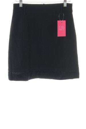 Taifun Mini rok zwart simpele stijl