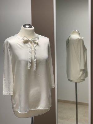 TAIFUN Schluppenbluse Blusenshirt mit Jerseyrücken NEU