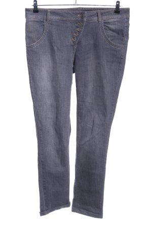 Taifun Separates Boyfriend jeans lichtgrijs casual uitstraling