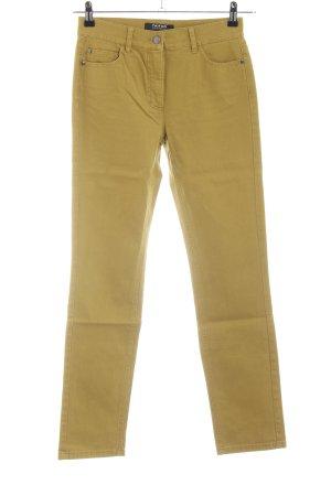 Taifun Separates Slim Jeans blassgelb Casual-Look