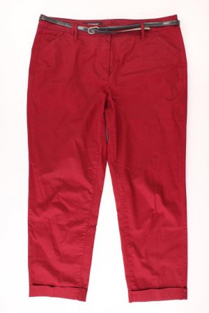 Taifun Shorts mit Gürtel Größe 46 rot