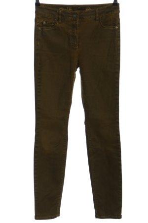 Taifun Slim Jeans khaki Casual-Look