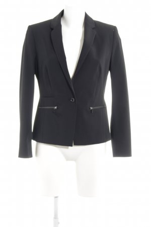 Taifun Smoking-Blazer schwarz Business-Look