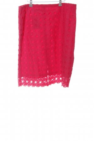 Taifun Koronkowa spódnica czerwony Wzór w kropki W stylu casual