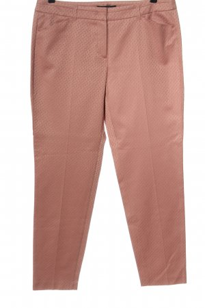 Taifun Pantalon en jersey rose chair imprimé allover élégant