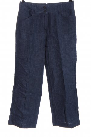 Taifun Jersey Pants blue flecked casual look
