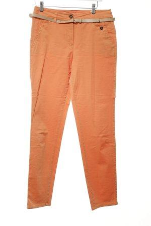 Taifun Stoffhose apricot Casual-Look
