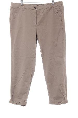 Taifun Spodnie materiałowe jasnobrązowy W stylu casual