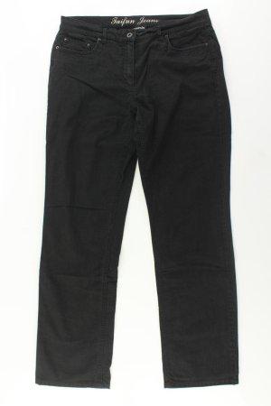 Taifun Jeansy z prostymi nogawkami czarny