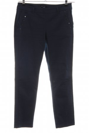 Taifun Stretchhose blau Casual-Look