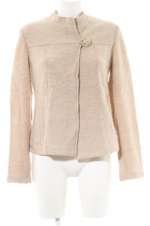 Taifun Strickjacke creme meliert Business-Look