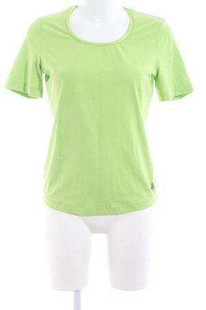 Taifun T-Shirt grün Casual-Look