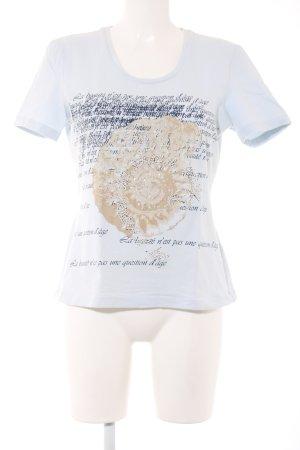 Taifun T-Shirt Motivdruck Casual-Look