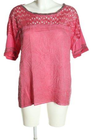 Taifun T-Shirt pink Casual-Look
