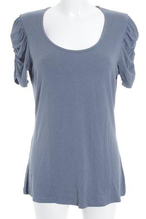Taifun T-Shirt graublau-blassblau Casual-Look