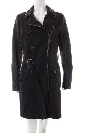 Taifun Trenchcoat schwarz Street-Fashion-Look