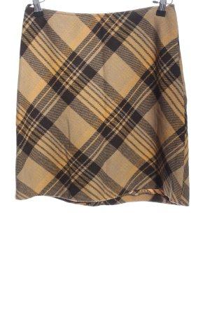 Taifun Tweed Skirt black-primrose check pattern casual look