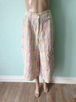 Pantalone culotte multicolore Tessuto misto