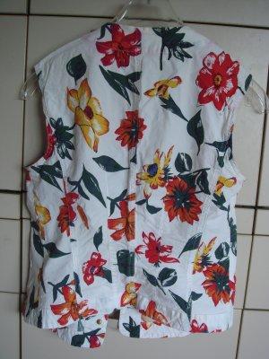 Taifun Gilet en jean multicolore