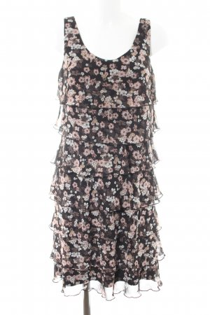 Taifun Flounce Dress allover print casual look