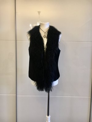 Taifun Fur vest black