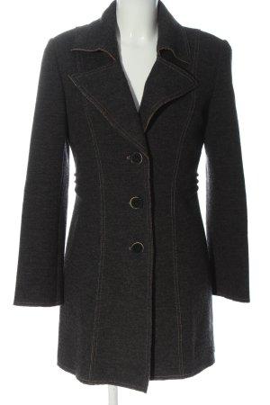 Taifun Cappotto in lana grigio chiaro stile professionale