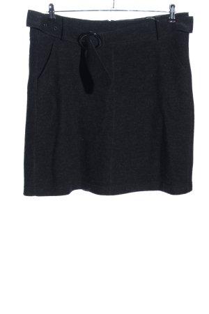 Taifun Wollen rok zwart zakelijke stijl