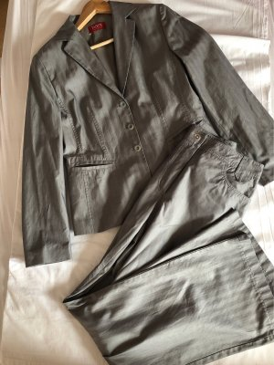Taifun Collection Trouser Suit silver-colored