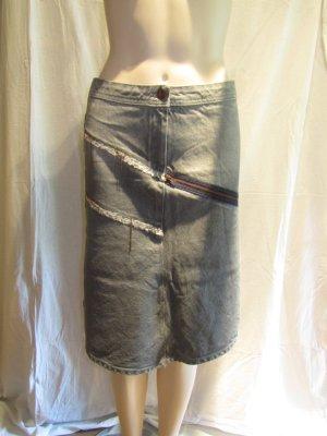 Pinko Denim Skirt multicolored cotton
