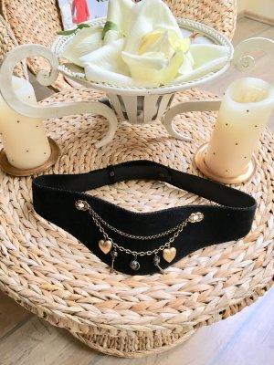 Cintura fianchi nero-oro
