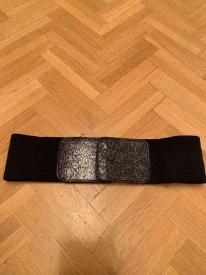 Mango Cinturón pélvico negro-gris antracita