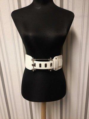 Waist Belt white mixture fibre