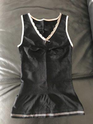 Taillenformer Shirt in schwarz elastisch ungetragen