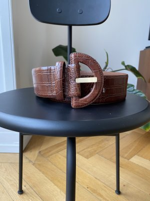 Mango Waist Belt cognac-coloured-brown