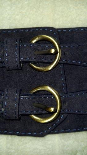 Bijou Brigitte Ceinture de taille doré-bleu foncé