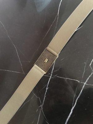 Elisabetta Franchi Cinturón pélvico color bronce-caqui